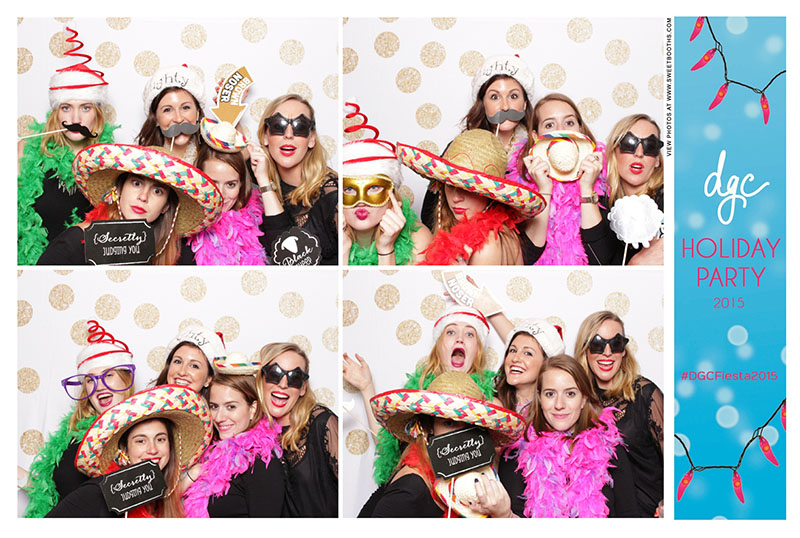 Sweet booths photo booth corporate holiday party (4)