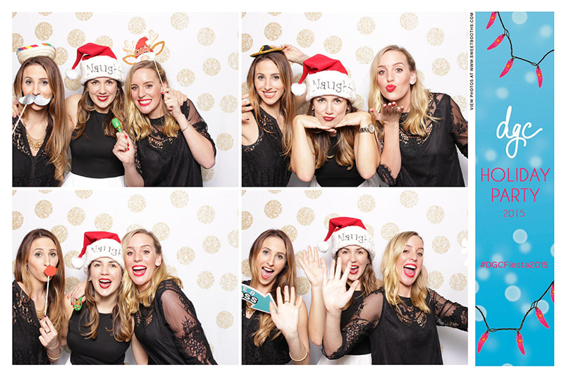 Sweet booths photo booth corporate holiday party (6)
