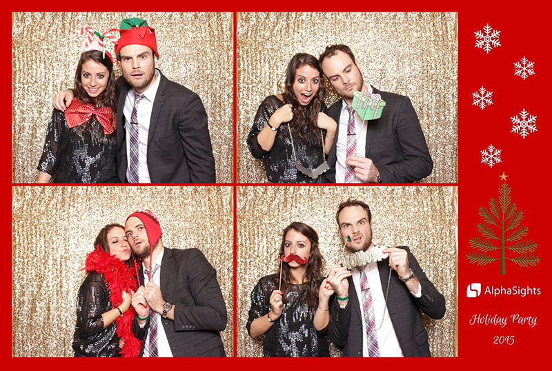 Sweet booths photo booth holiday party (1)